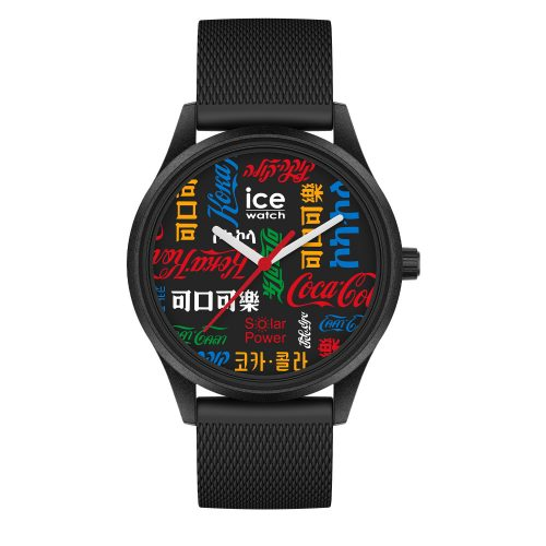 Ice-watch ice solar coca cola limited edition unisex 40mm 019618