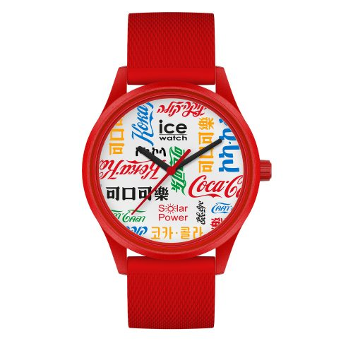 Ice-watch ice solar coca cola limited edition unisex 40mm 019620