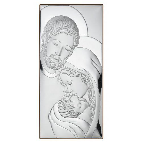 VALENTI Ezüstözött -Fa vallási Ikon