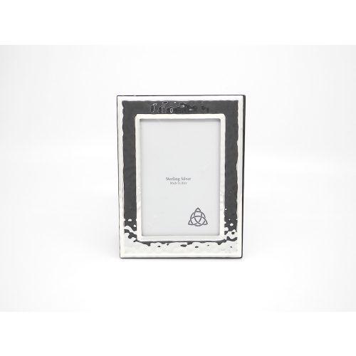 Loro ezüst képkeret 6x9 cm