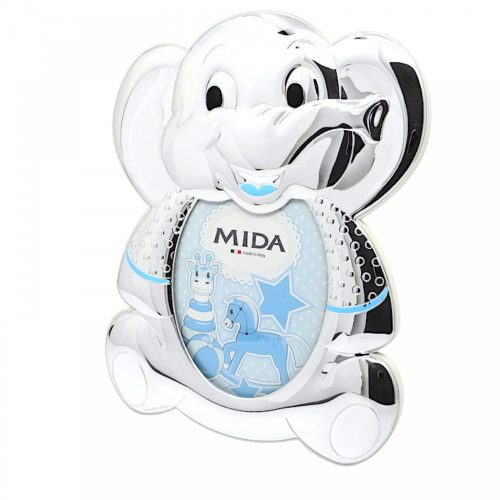 MIDA- ezüstözött gyermek képkeret 8,5x10 cm