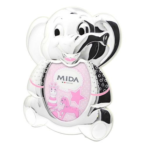 MIDA-ezüstözött gyermek képkeret 9x13 cm