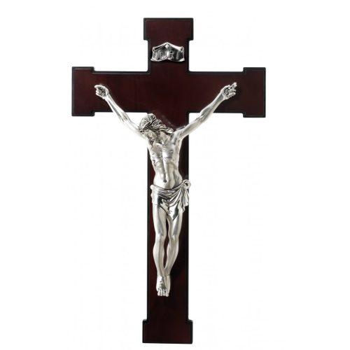Valenti - ezüstözött kereszt ikon