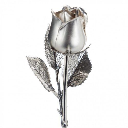 Ezüst Rózsa - 17 cm