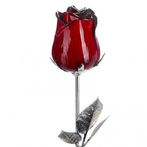 Ezüst Rózsa - 48 cm
