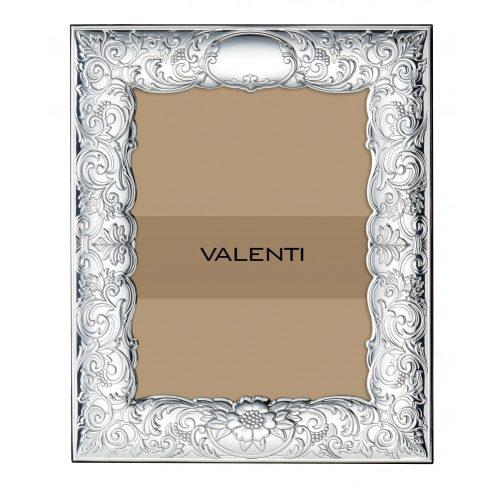 VALENTI-Ezüstözött képkeret 9X13 cm