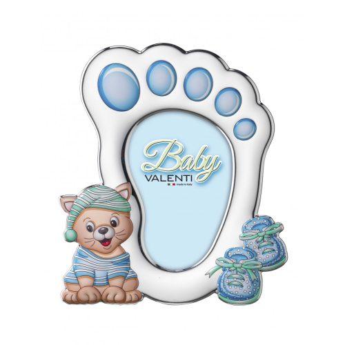 Valenti- ezüstözött gyermek képkeret 10x14 cm