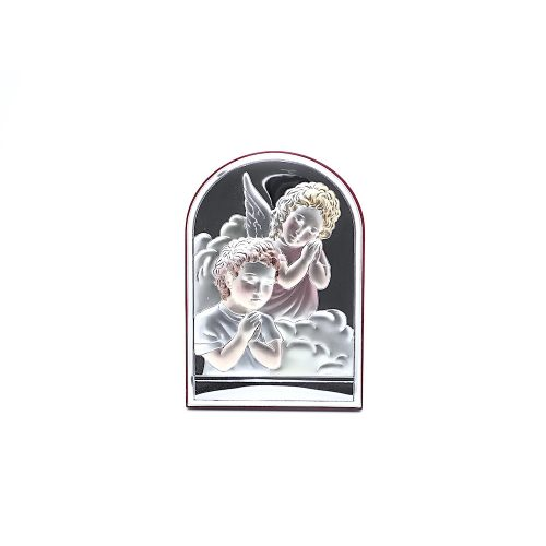 VALENTI Ezüstözött-Fa-vallási ikon
